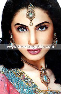 Style DRJ1046, Product code: DRJ1046, by www.dressrepublic.com - Keywords: Indian Pakistani Jewelry, Jewelery Online Shops Sugarland, TX