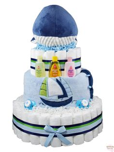 Willie Whale Diaper Cake 3 Tier This is one whale of a diaper cake – you have to… Baby Party, Baby Shower Parties, Baby Shower Themes, Baby Boy Shower, Shower Ideas, Whale Diaper Cake, Diaper Cakes, Anchor Baby Showers, Couches