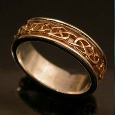 Gorgeous Celtic Wedding Ring. Made in Scotland See www.weddingsonline.in for wedding inspiration