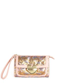 Betsey Johnson Glisten Closely Clutch by Betsey Johnson Betsey Johnson Handbags, Barbie, Vintage Bags, Retro Vintage, Little Fashionista, Small Crossbody Bag, Vuitton Bag, Small Bags, Handbag Accessories