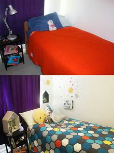 Before and after! Kidsroom makeover