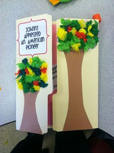 Lapbooks and Johnny Appleseed Webquest