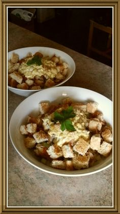 Curried Egg Caesar Salad. Healthy and very tasty