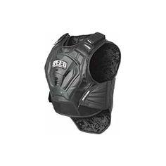 Speed and Strength Lunatic Fringe Men's Motorcycle Vest (Black, Large/X-Large)