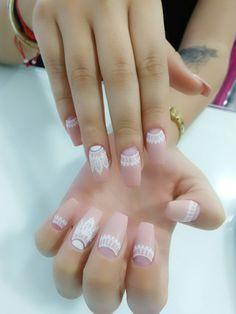 Matte mándala Nails D'Divine Glam Nails