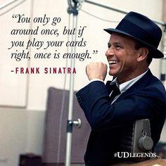 Cheers, Sinatra. #HBD