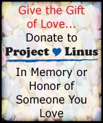 Project Linus has links to over 20 blanket projects and tutorials! Make and donate a blanket to help children in need.