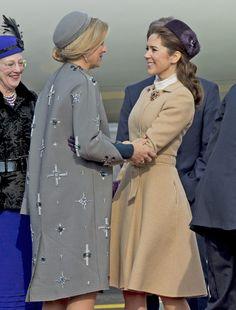 El esperado encuentro de Máxima de Holanda y Mary de Dinamarca - Foto 3