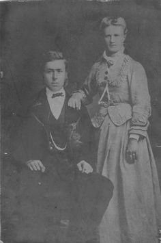 My great grandparents Guri Torkelsdotter and Gabriel Fanuelson. Parents of Mina Olava Mattningsdal