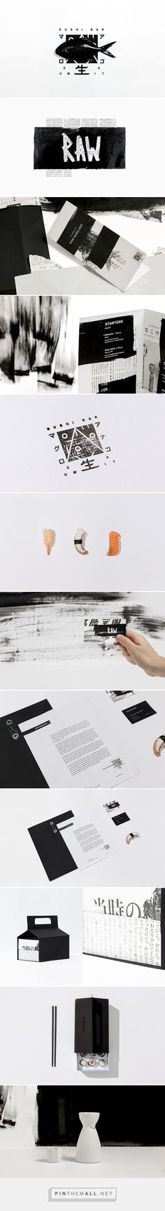 Raw Sushi Bar Restaurant Branding by Futura | Fivestar Branding Agency – Design and Branding Agency & Curated Inspiration Gallery