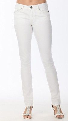 f4c17d8a10 White Skinny Twill These awesome, fantastic-fitting skinny pants look and  fit like jeans