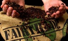 """Fair trade is a win-win. """"When a cup of fair trade coffee is drunk in the USA, it means a lot to a small producer in Kilimanjaro,"""" says Amos. """"Each and every person can make a difference through their purchasing power."""""""