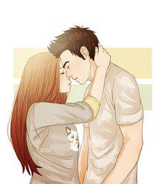 Stiles and Lydia #Stydia #LydiaMartin #StilesStilinski #TeenWolf #fanart