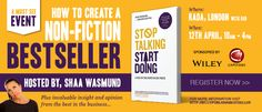 How to create a non-fiction best seller