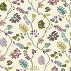 Buy the York Wallcoverings Cream, Plum Purple, Lilac Purple Direct. Shop for the York Wallcoverings Cream, Plum Purple, Lilac Purple Waverly Small Prints A New Leaf Wallpaper and save.