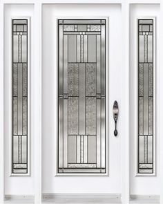 front doors with sidelites and 3/4 glass - Google Search