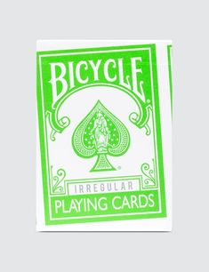 18e3b186265 Fragment Design - Fragment Design x Bicycle  Illegular  Playing Cards