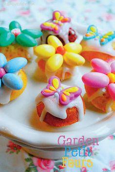 Garden Petit Fours