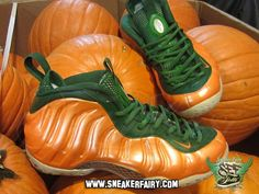 "Nike Air Foamposite One ""Pumpkin"" Custom"
