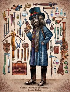 Steampunk Monkeys 03