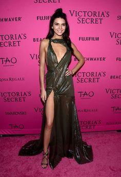 Kendall jenner Victoria's Secret 2015: Pink Carpet - Eventos - Vogue Portugal