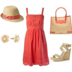 beach day, created by alanna-bowes on Polyvore