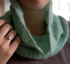 Cashmere Cowl by the purl bee, via Flickr