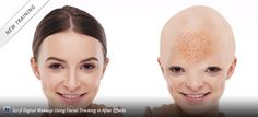 Sci-fi Digital Makeup Using Facial Tracking in After Effects