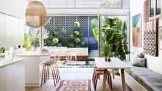 A Colourful, Art-Filled Family Home In Balmain