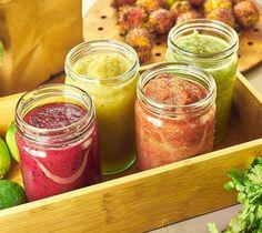 smoothie zo zeleniny a ovocia Juice Smoothie, Smoothies, Fruit Juice, Smoothie Recipes, Smoothie Detox, Dieta Detox, Nutribullet, Salsa, Food And Drink