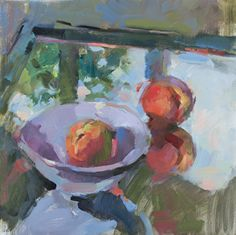 Ingrid Christensen is a Canadian Impressionist painter working in oils. She specializes in still life and figurative work with an interest in the effects of light on colour. Shirley Trevena, Canadian Painters, Fruit Painting, Fruit Art, Beautiful Artwork, Landscape Paintings, Art Paintings, Impressionist, Still Life