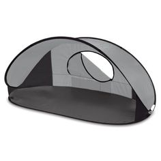 This Manta portable shelter by Oniva a Picnic Time brand is compact and allows for quick and easy set up. Designed for use at the beach the park or even the backyard this open-front day tent offer...