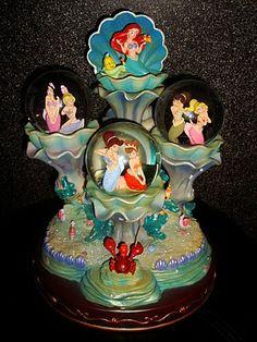Found on imkittyrouge.blogspot.com.au LITTLE MERMAID | The Little Mermaid: Daughter's of Triton Snowglobe