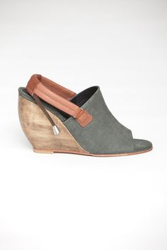 Rachel Comey Women's - Inni Slingback Wedge via @shopacrimony (No way in hell I would pay that kind of money for ANY air of shoes, but they are pretty and one can dream.  :0) !)