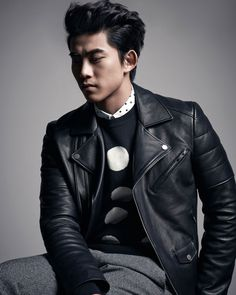 2PM's Ok Taecyeon for Sieg Fahrenheit Fall/Winter 2014 Catalogue