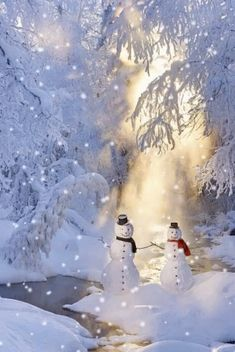 Discover & share this Animated GIF with everyone you know. GIPHY is how you search, share, discover, and create GIFs. Winter Szenen, Winter Love, Winter Magic, Alaska Winter, Christmas Scenes, Christmas Snowman, Winter Christmas, Christmas Time, Xmas