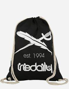 iriedaily - Gymbag Iriedaily black white