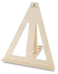 Elegantly simple table-top easel :  American Easel Table Top Easel - BLICK art materials