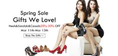 2014 summer shoes of Shoespie.com designs, 70% discount for new arrival sandals for girls. High quality Shoespie women shoes will take you to the fashion world. Sexy shoes for women are also on hot selling with best quality. You deserve the perfect shoes with more charming.