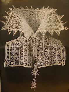 Lace collar, Venetian, c 1610. Rikjsmuseum, Amsterdam