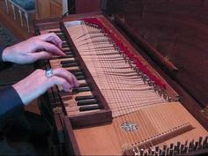 Bach's Invention No. 8 is a short, sweet, and fantastic song. Originally played on Harpischord  (my favorite way to hear it!), it's played wonderfully on  this clavichord
