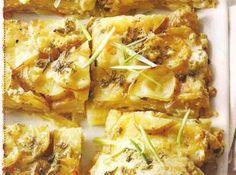 Cheesy garlic potato gratin - a great side dish!