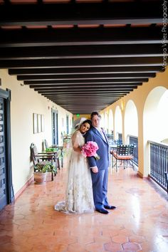 Real Claire Pettibone bride Esther Gatria's & Chris - Photo: Vanessa Velez Photography