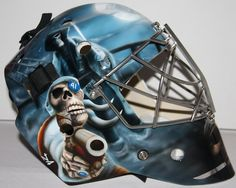 mike smith goalie mask - Google Search