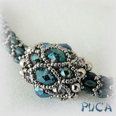 "More - Schéma ... Pearl ""Kitty"" - a designer piece of PUCA on DaWanda"
