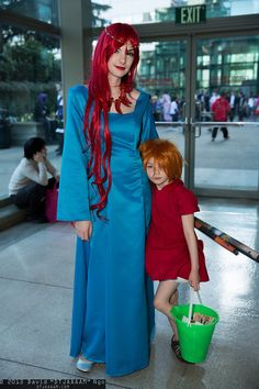 Mother of the Sea and Ponyo ...absolutely perfect