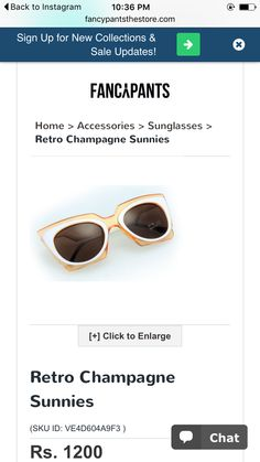Fancy pants the store site// for sunnies