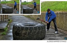 Bodybuilding.com - Junkyard Gym Workout: Build Your Own Backyard Gym