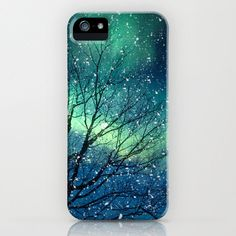 iPhone 5 Case iPhone 5 northern lights aurora borealis by bomobob, $42.00