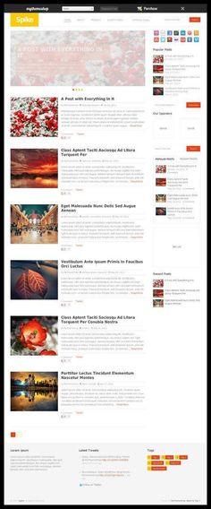 MyThemeShop - Spike WordPress Theme Review